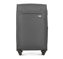Large suitcase, grey, V25-3S-263-00, Photo 1