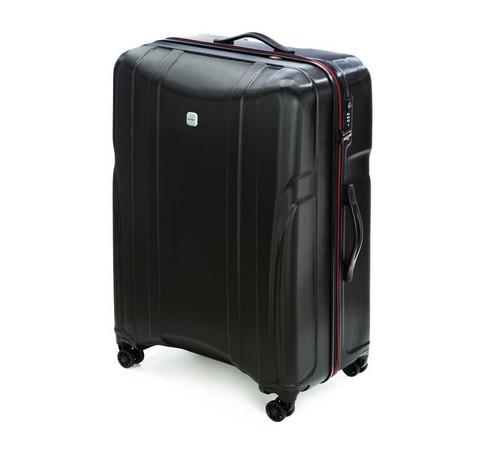 Duża walizka na kółkach z policarbonu