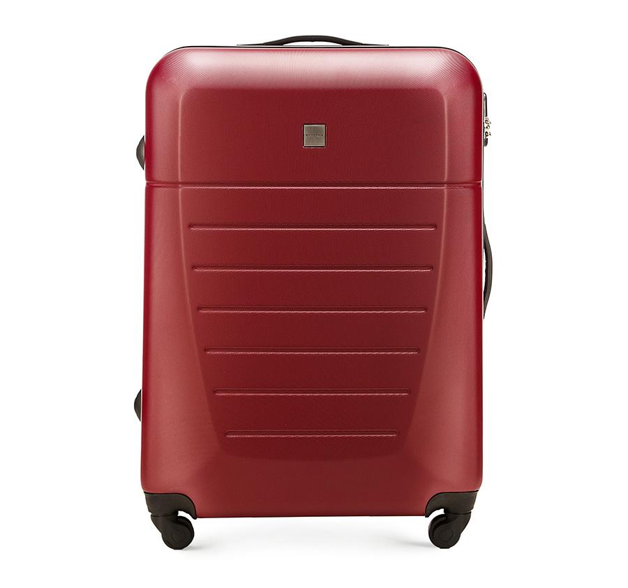 Большой чемодан 27\Большой чемодан сделан из высокопрочного и устойчивого к царапинам пластика ABS. Выдвижная ручка, главное отделение на молнии с кодовым замком TSA, разделённое на две части: одно отделение с фиксирующими ремнями для одежды, второе отделение закрывается на молнию, внутренний карман на молнии.<br><br>секс: унисекс<br>материал:: Поликарбонат<br>подкладка:: полиэстр<br>высота (см):: 74<br>ширина (см):: 51<br>глубина (см):: 26<br>размер:: большой<br>объем (л):: 81<br>вес (кг):: 4,2