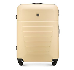 Large suitcase, ecru, 56-3A-253-85, Photo 1