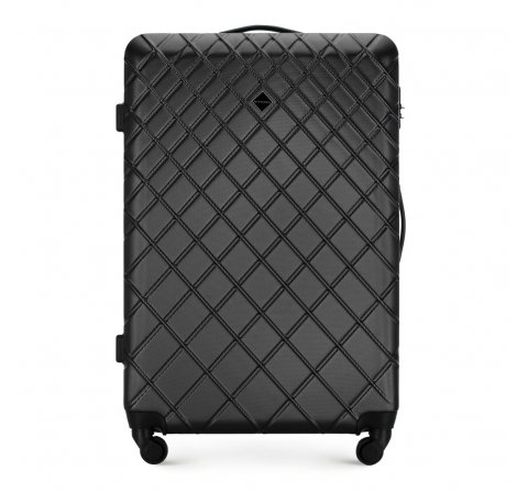 Large suitcase, steel - black, 56-3A-553-31, Photo 1