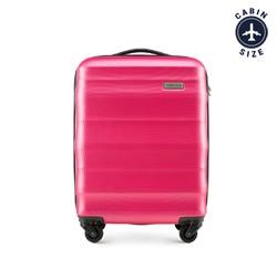 Walizka kabinowa, różowy, 56-3A-351-60, Zdjęcie 1