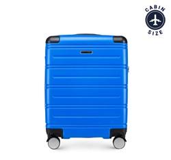 Walizka kabinowa, niebieski, 56-3A-441-90, Zdjęcie 1