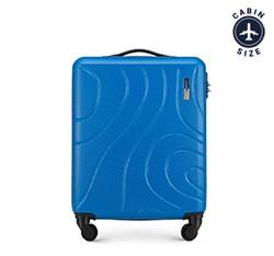 Walizka kabinowa, niebieski, 56-3A-571-90, Zdjęcie 1