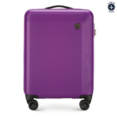 Small suitcase, violet, 56-3A-621-44, Photo 1