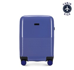 Small suitcase, violet, 56-3H-571-24, Photo 1