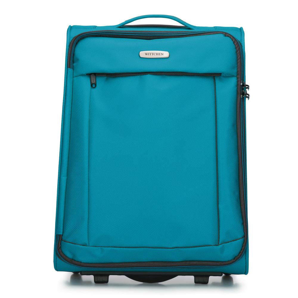 8df540a753c81 Mała walizka podróżna z poliestru | WITTCHEN | 56-3S-461