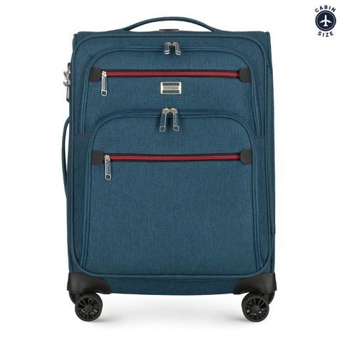 Чемодан текстильный Wittchen 56-3S-501-90