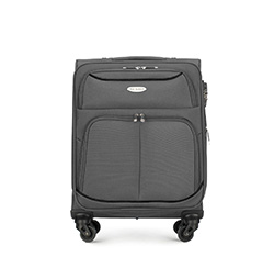 Small suitcase, grey, 56-3S-520-11, Photo 1