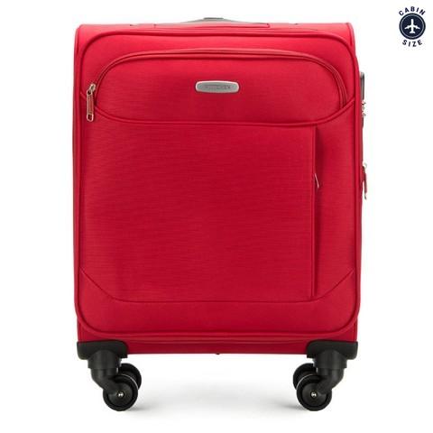 Walizka kabinowa, czerwony, 56-3S-521-11, Zdjęcie 1