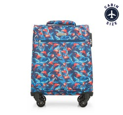 Small suitcase, multicoloured, 56-3S-541-FL, Photo 1