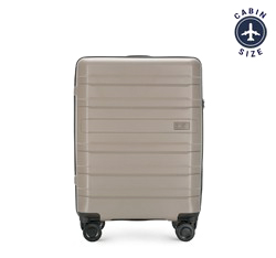 Small suitcase, grey-beige, 56-3T-751-85, Photo 1