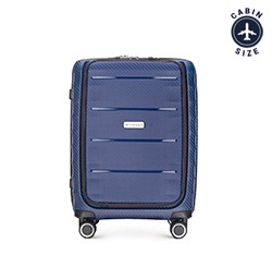 Small suitcase, navy blue, 56-3T-760-90, Photo 1