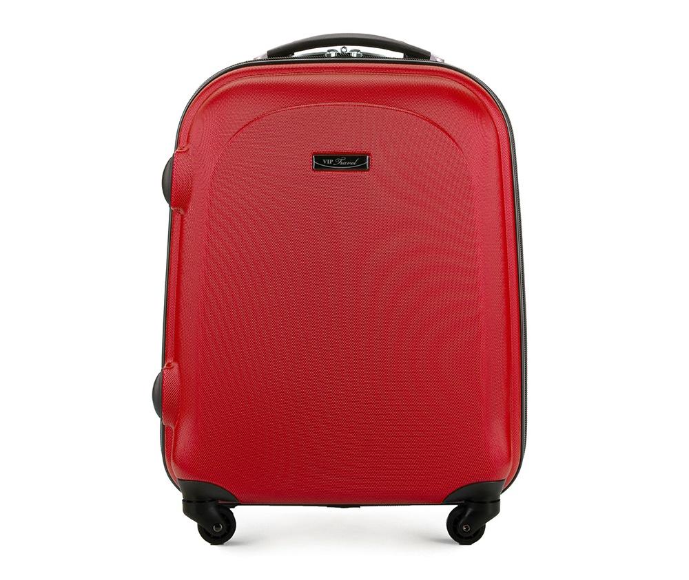 Чемодан на колесах 19\Маленький чемодан из коллекции VIP Ride 3, сделан из ABS. Чемодан имеет 4 двойных колесика, двухступенчатую выдвижную алюминиевую ручку и две резиновые ручки: сверху и сбоку. Современный и оригинальный дизайн чемодана подчеркивает красная нить вплетенная в молнию. Чемодан имеет двойную молнию, функцию  \AntiTheft\, благодаря которой чемодан устойчив к нежелательному открытию острым предметом, кодовый замок с функцией TSA. Внутри: два отделения для одежды, один отдел фиксируется ремнями на застежку и второй закрывается на молнию; 2 сетчатых кармана на молнии.<br><br>секс: унисекс<br>материал:: Поликарбонат<br>высота (см):: 54<br>ширина (см):: 38<br>глубина (см):: 20<br>размер:: ручная кладь<br>объем (л):: 33<br>вес (кг):: 2.5