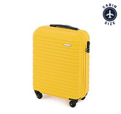 Cabin suitcase, yellow, 56-3A-311-50, Photo 1