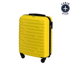 Small suitcase, yellow, 56-3A-391-85, Photo 1