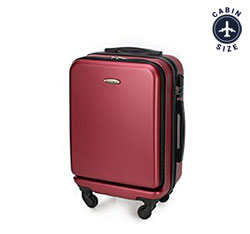 Small suitcase, burgundy, 56-3A-431-30, Photo 1