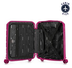 Small suitcase, pink, 56-3P-821-60, Photo 1