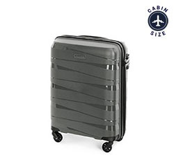 Small suitcase, grey, 56-3T-791-00, Photo 1