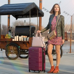 Small suitcase, muted pink, 56-3T-791-35, Photo 1