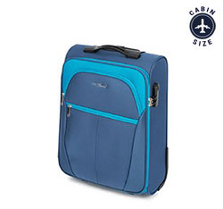 Small suitcase, blue, V25-3S-231-95, Photo 1