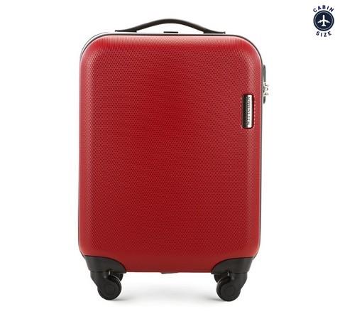 Walizka kabinowa, czerwony, 56-3-610-10, Zdjęcie 1