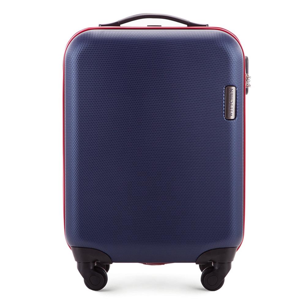 Чемодан на колёсиках 19\\Маленький чемодан из коллекции ABS S-Line, сделан из высокопрочного и устойчивого к царапинам пластика ABS. Иммет четыре колесика, выдвижную ручку и резиновую ручку, главное отделение на молнии с кодовым замком, разделено на две части: одно отделение с фиксирующими ремнями для одежды, второе отделение закрывается на молнию, внутренний карман на молнии. Размеры чемодана соответствует требованиям, предъявляемым к ручной клади в бюджетных авиакомпаниях<br><br>секс: унисекс<br>Цвет: синий<br>материал:: ABS пластик<br>высота (см):: 55<br>ширина (см):: 36<br>глубина (см):: 20<br>вес (кг):: 2.8<br>объем (л):: 27