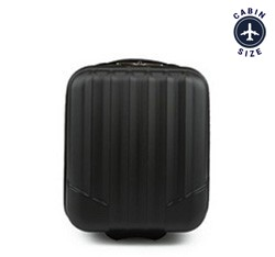 Cabin suitcase, black, V25-10-232-10, Photo 1