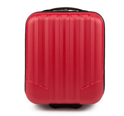 Walizka kabinowa, czerwony, V25-10-232-00, Zdjęcie 1