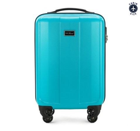 0e1d2aecad010 Mała walizka na kółkach z ABS | 55x35x20 cm | WITTCHEN V25-10-771