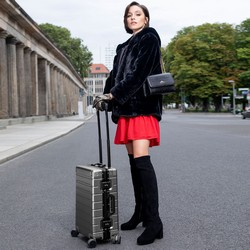 Small suitcase, silver, 56-3H-101-12, Photo 1