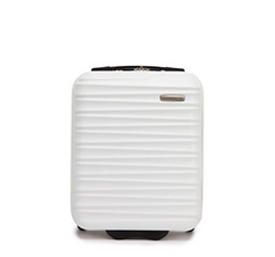 Ribbed hard shell cabin case, white, 56-3A-315-89, Photo 1