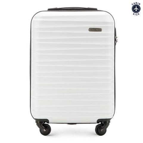 2113a38396c0d Mała walizka z ABS-u ( 54x38x20 ) | WITTCHEN | 56-3A-311