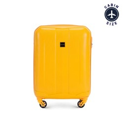 Small suitcase, yellow, 56-3A-371-50, Photo 1