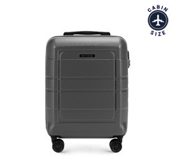 Small suitcase, grey, 56-3H-541-00, Photo 1