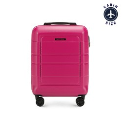 Small suitcase, pink, 56-3H-541-60, Photo 1