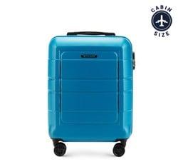 Walizka mała, niebieski, 56-3H-541-95, Zdjęcie 1