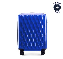 Small suitcase, blue, 56-3H-551-90, Photo 1