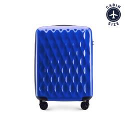 Walizka kabinowa, niebieski, 56-3H-551-90, Zdjęcie 1