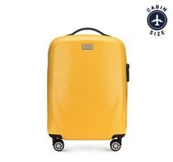 Walizka mała, żółty, 56-3P-571-50, Zdjęcie 1