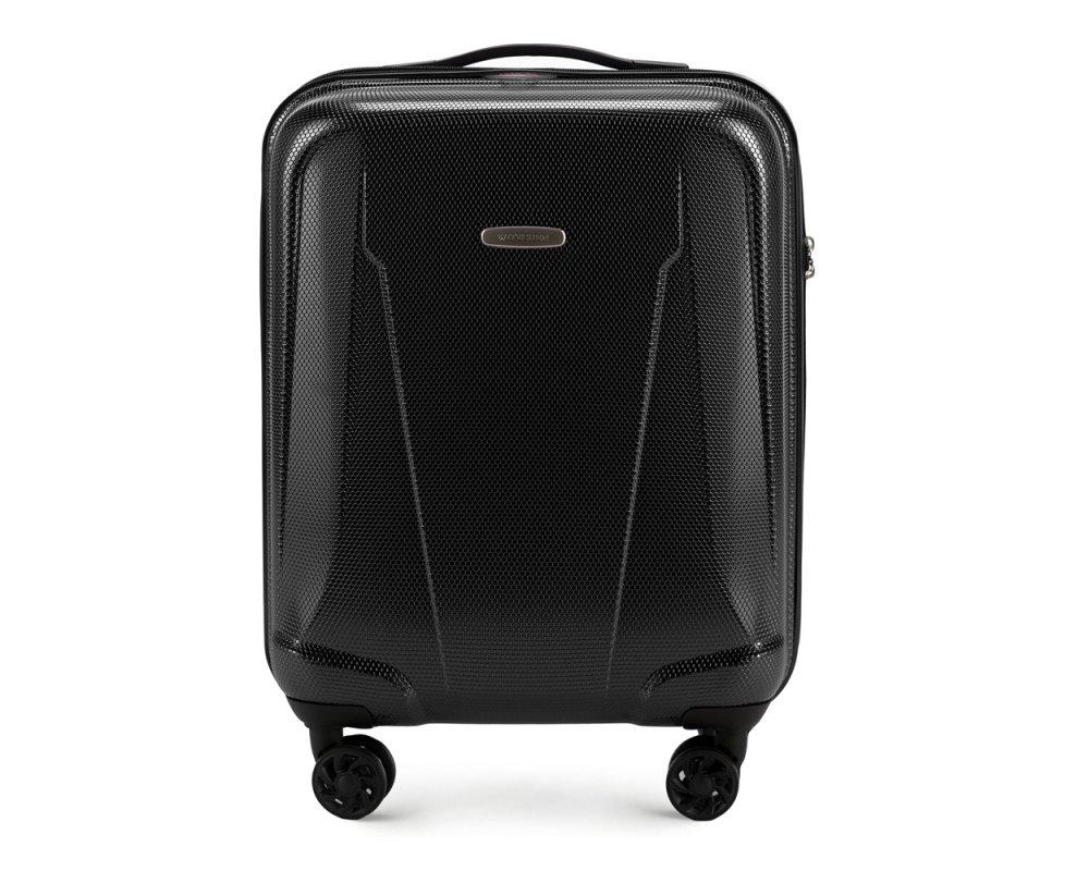 Маленький чемодан из поликарбоната Wittchen 56-3P-991-10, черный