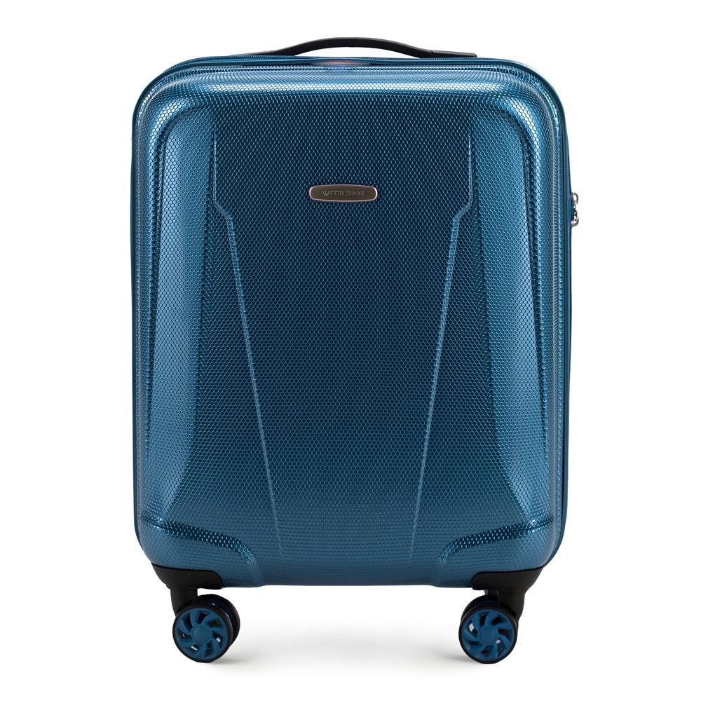 Маленький чемодан из поликарбоната Wittchen 56-3P-991-95, голубой