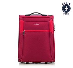 Small suitcase, red, V25-3S-231-33, Photo 1