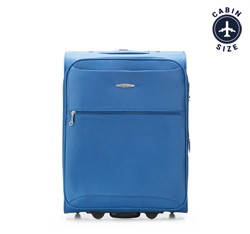 Small suitcase, blue, V25-3S-241-90, Photo 1