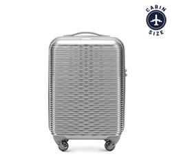 Маленький чемодан 19' Wittchen 56-3H-521-00, серебряный 56-3H-521-00