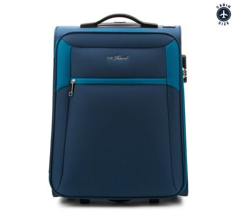 Walizka kabinowa, niebieski, V25-3S-231-99, Zdjęcie 1