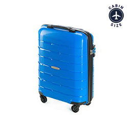 Small suitcase, blue, 56-3T-721-95, Photo 1