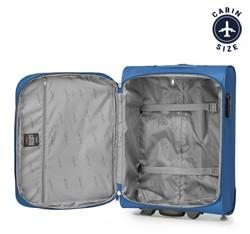 Kabinowa miękka walizka basic, niebieski, V25-3S-241-90, Zdjęcie 1