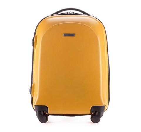 37a9c7487b876 Mała walizka podróżna na kółkach z ABS | 56x38x23 cm | WITTCHEN V25 ...