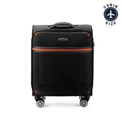 Маленький чемодан 18' Wittchen 56-3S-491-10, черный 56-3S-491-10